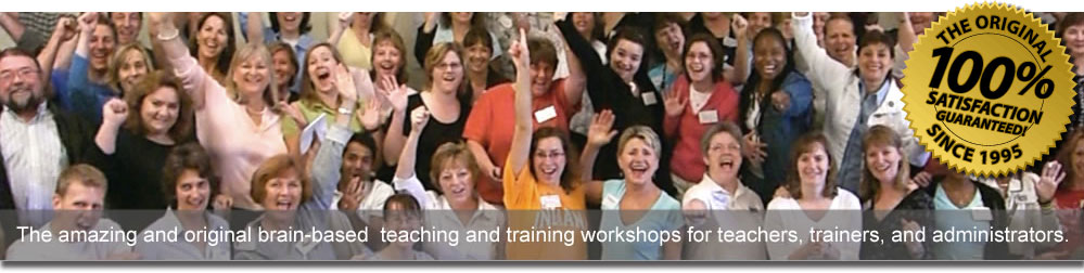 Brain based teacher workshops